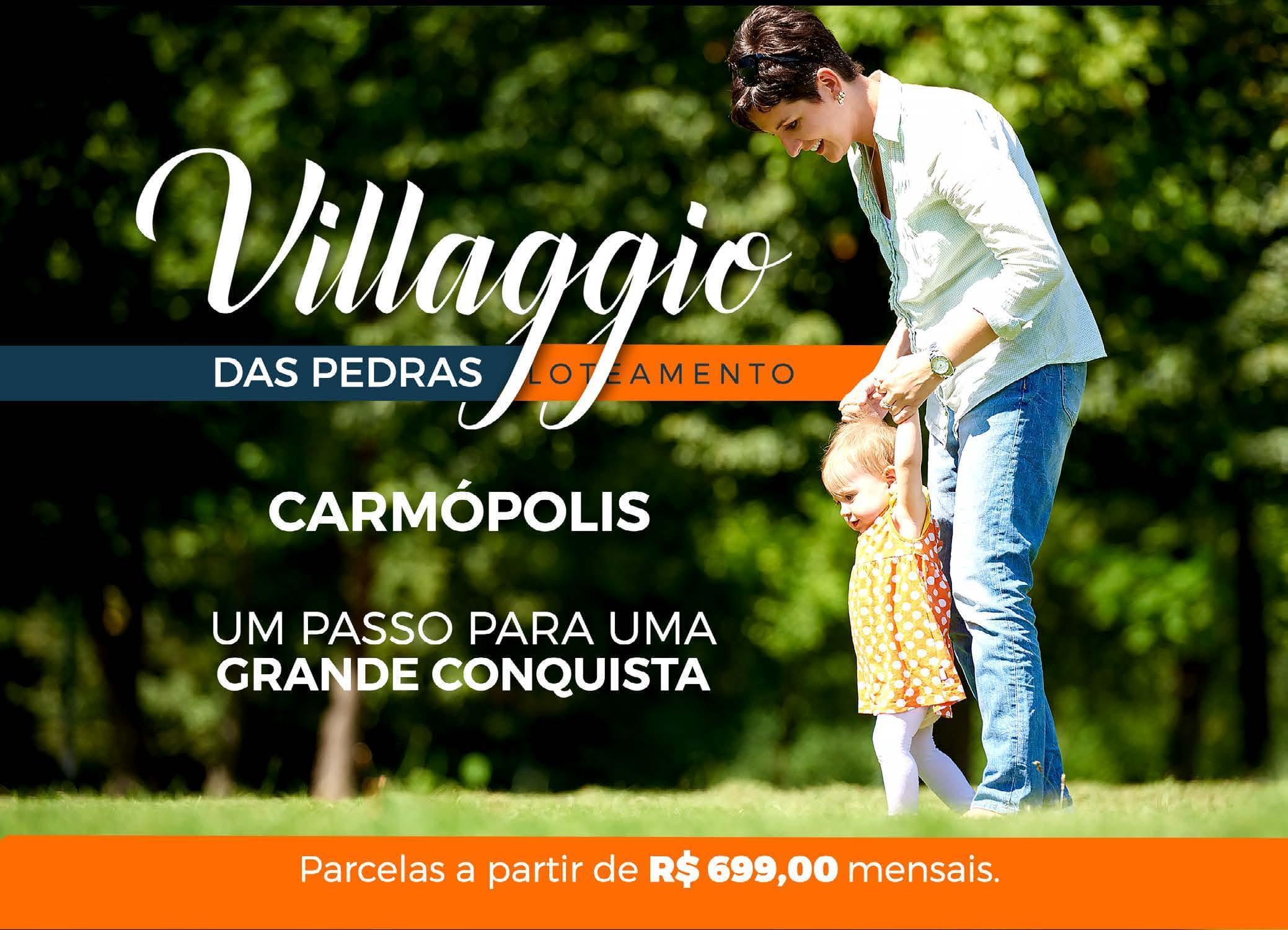 Villaggio das Pedras: um passo para uma grande conquista