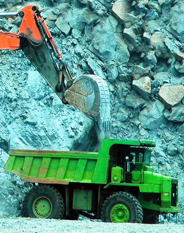 Empresas buscam ferro, ouro e minérios de uso na construção